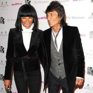 Ronnie Wood Splits From Ana