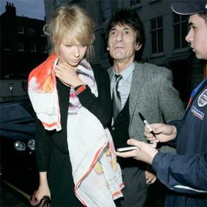 Ronnie Wood Rekindles Romance With Ekaterina