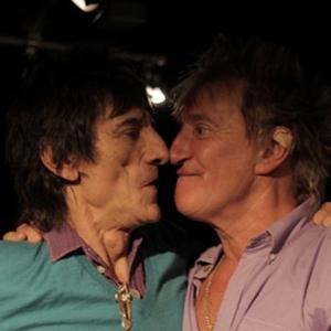 Ronnie Wood And Rod Stewart Plan New Collaboration