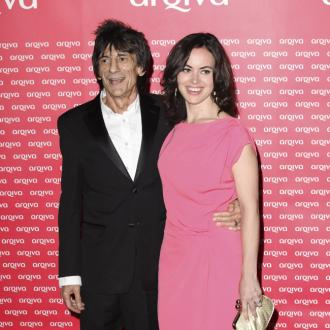 Ronnie Wood's Wife Gets On With Ex Jo