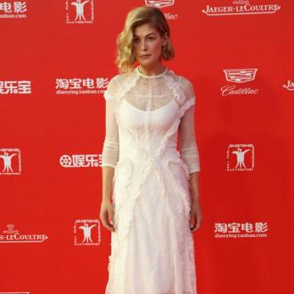 Rosamund Pike wants to support females on set