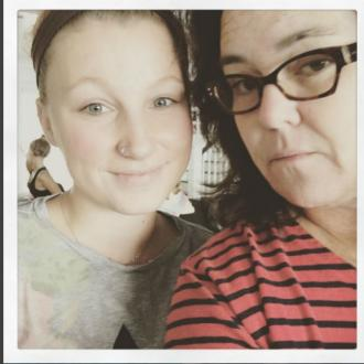 Rosie O'Donnell reunites with daughter