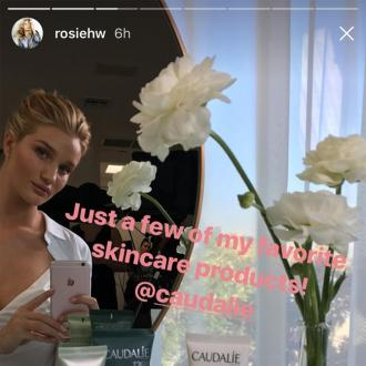Rosie Huntington-Whiteley's 'secret weapon' is Caudalie's Beauty Elixir