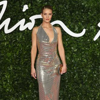 Rosie Huntington-Whiteley embraced pregnancy figure