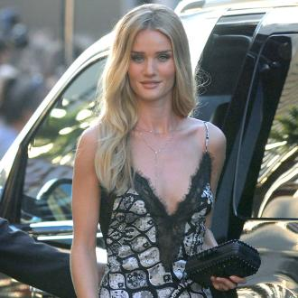 Rosie Huntington-whiteley Finds Lingerie Modelling Empowering