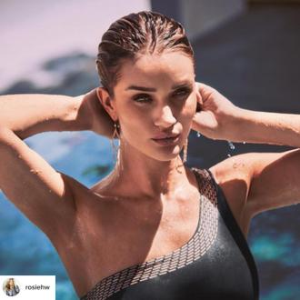 Rosie Huntington-whiteley Will Launch Swimwear Line In April