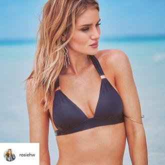 Rosie Huntington-Whiteley is 'so happy' with her Rosie for Autograph swim line