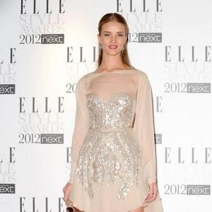 Rosie Huntington-whiteley Is Obsessed With Vintage Lingerie