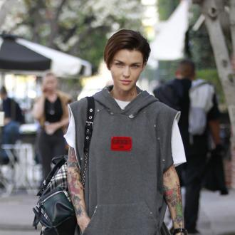 Ruby Rose's dog thinks dirty underwear is the new Black