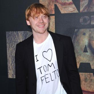 Tom Felton pranks Rupert Grint