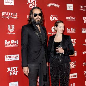 Russell and Laura Brand are 'enjoying a slower pace of living'