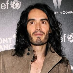 Russell Brand Wears Katy Clothes