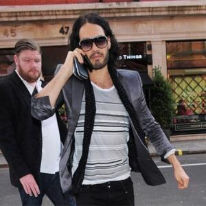 Russell Brand Shaken By Car Collision