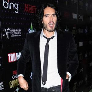 Russell Brand Loved Movie Kisses With Garner
