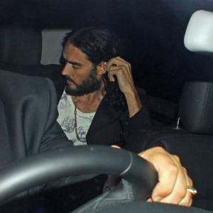 Russell Brand Jokes About Geri Halliwell Fling