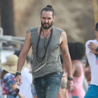 Russell Brand is a dad again