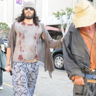 Russell Brand's Crash With Homeless Man