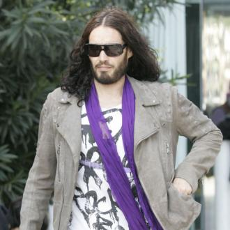 Russell Brand Spotted With Mystery Blonde