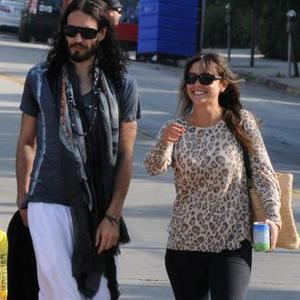Russell Brand Moving In With Girlfriend?