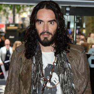 Russell Brand Injured His Foot Kickboxing