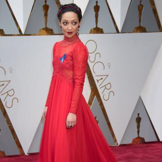Ruth Negga's 2017 Oscars head piece features almost 150 carats of Mozambican rubies