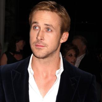 Ryan Gosling Relaxes By Knitting