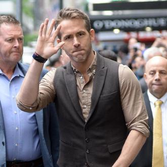 Ryan Reynolds got scared by bear