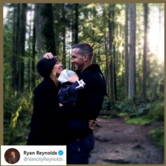 Ryan Reynolds confirms birth of 3rd child