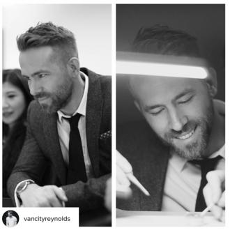 Ryan Reynolds Learns How To Build Piaget Watch On Recent Visit