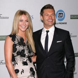 Julianne Hough Works Out With Ryan