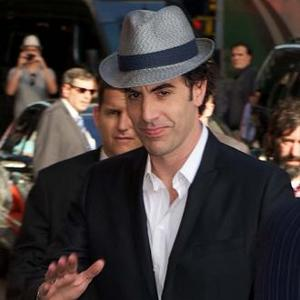 Sacha Baron Cohen Pens Bond-type Movie