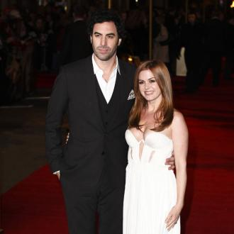 Isla Fisher and Sacha Baron Cohen welcome baby