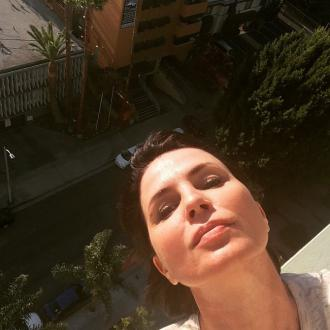Sadie Frost sitting her final masters exam