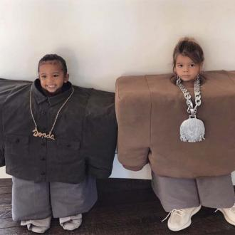 Saint West And Reign Disick's Kanye West And Lil Pump Tribute