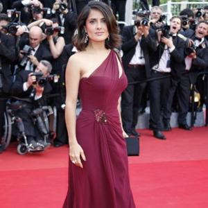 Salma Hayek Has Egg-cellent Hair
