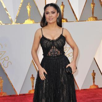 Salma Hayek explains 'freaky' Oscar gaffe