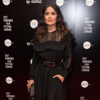 Death of Salma Hayek's dog mirrored new movie's plot
