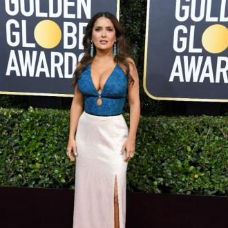 Salma Hayek was attacked by a monkey