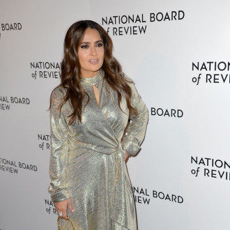 Salma Hayek hesitated to work with friend Javier Bardem