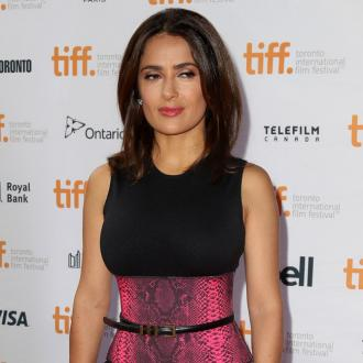 Salma Hayek Loves 'Hot' Label