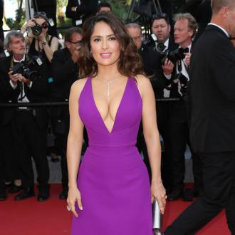 Salma Hayek: It's 'Exciting' Posing Nude