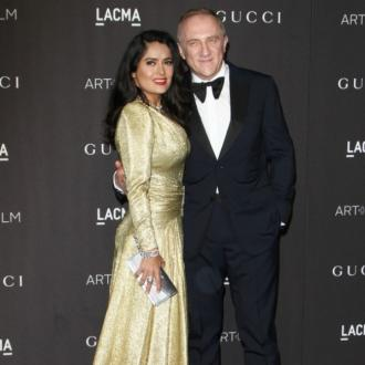 Salma Hayek 'proud' of husband after €100m Notre-Dame pledge