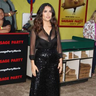 Salma Hayek kept her new role as a lesbian taco secret