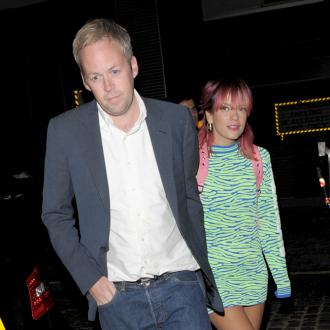 Lily Allen's Husband Doesn't Mind Marriage Songs