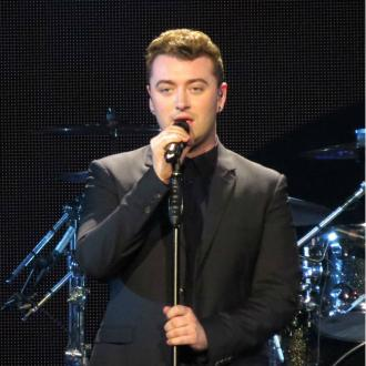Sam Smith Celebrates Grammy Nominations With Fizzy Water