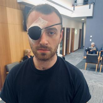 Sam Smith pokes fun at eye infection with Stye With Me quip