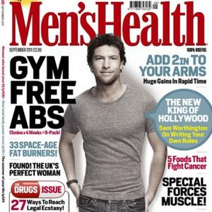 Sam Worthington Trains Like A 'Tank'