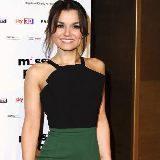 Samantha Barks and David Gandy split