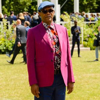 Samuel L. Jackson's fashion packed day