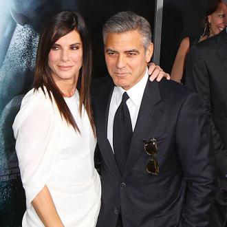 George Clooney Jokes About Sandra Bullock's Drinking
